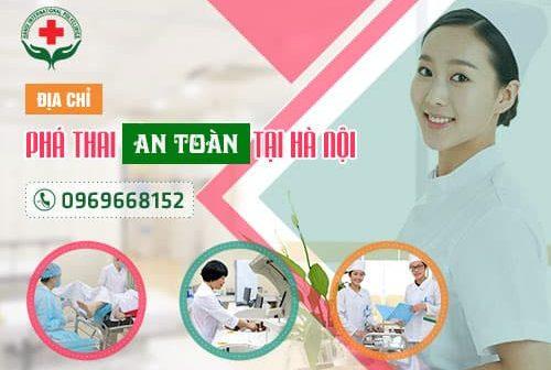 Phá thai bằng thuốc tại phòng khám đa khoa quốc tế Hà Nội