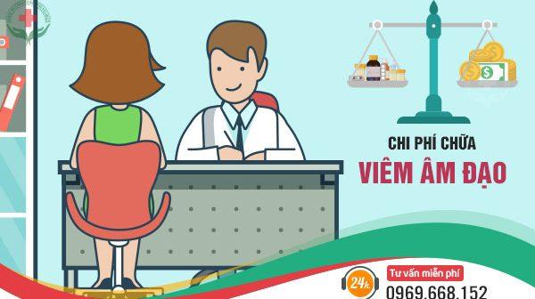 Giá 1 lần chữa viêm âm đạo tại Đa khoa quốc tế